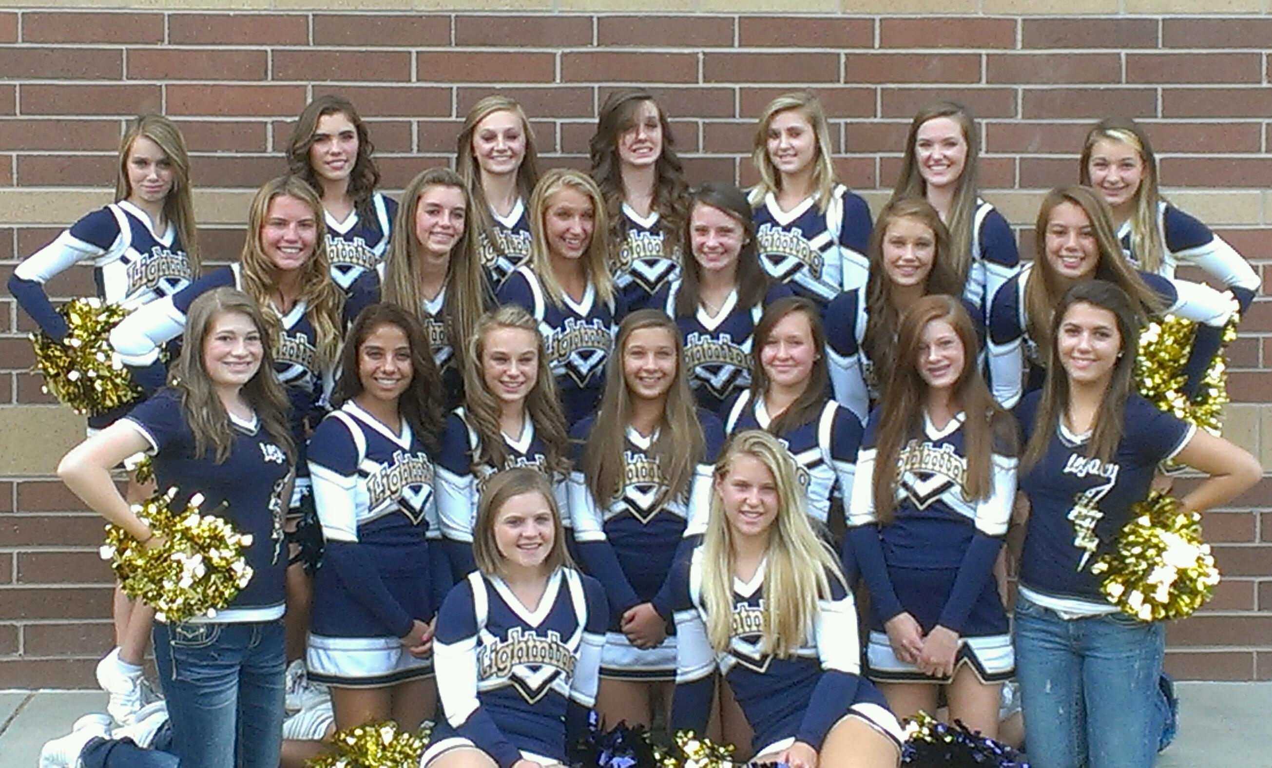 Legacy High School Cheerleaders of Broomfield, CO